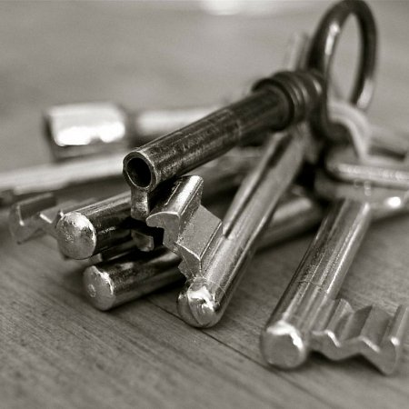 End of tenancy keys